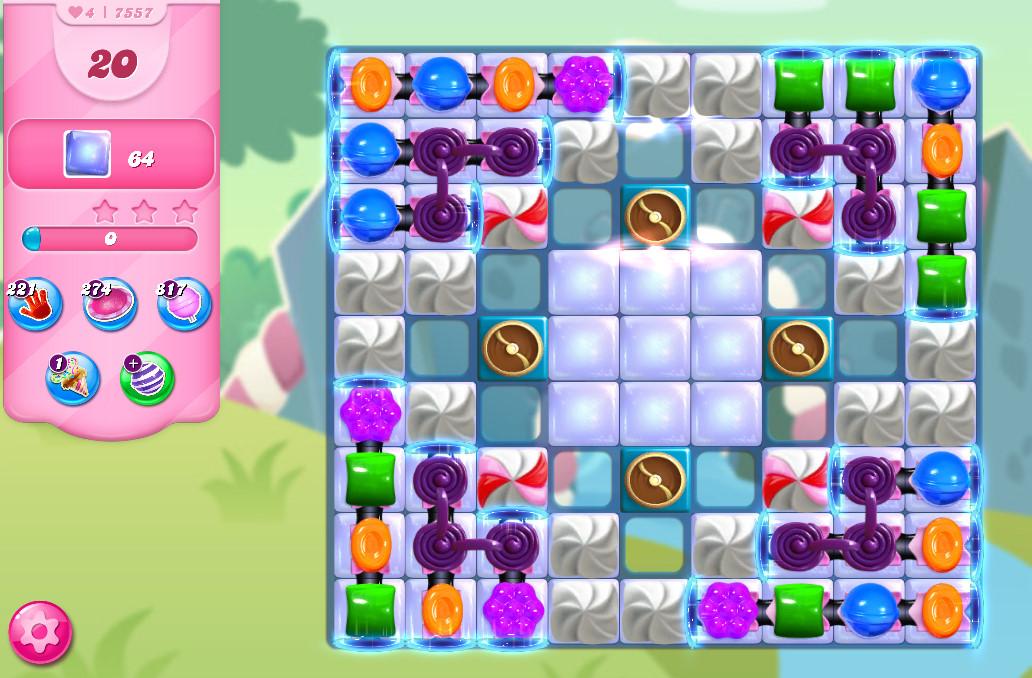 Candy Crush Saga level 7557