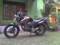 Review about honda tiger revo moment to Dieng