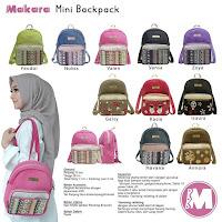 Makara mini backpack tas ransel cantik wanita