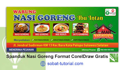 Desain Banner Spanduk Nasi Goreng