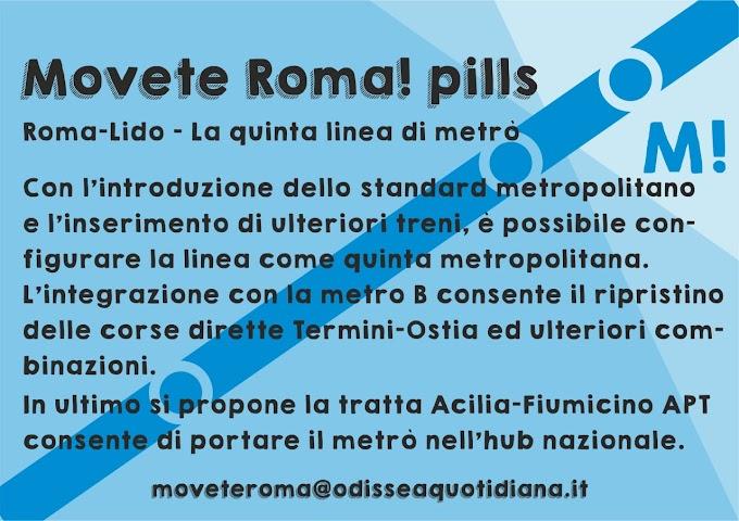 Movète Roma Pillola, numero 11: E ora la Metro E