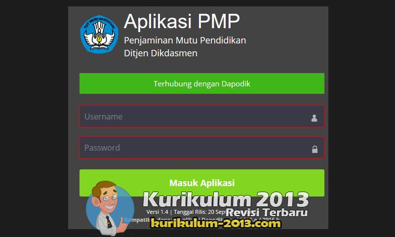 Download Aplikasi PMP Dikdasmen Versi 1.4 Tahun 2016 Terbaru - PMP Dapodik