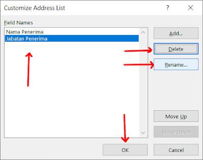 Cara Menggunakan Mail Merge di Microsoft Word