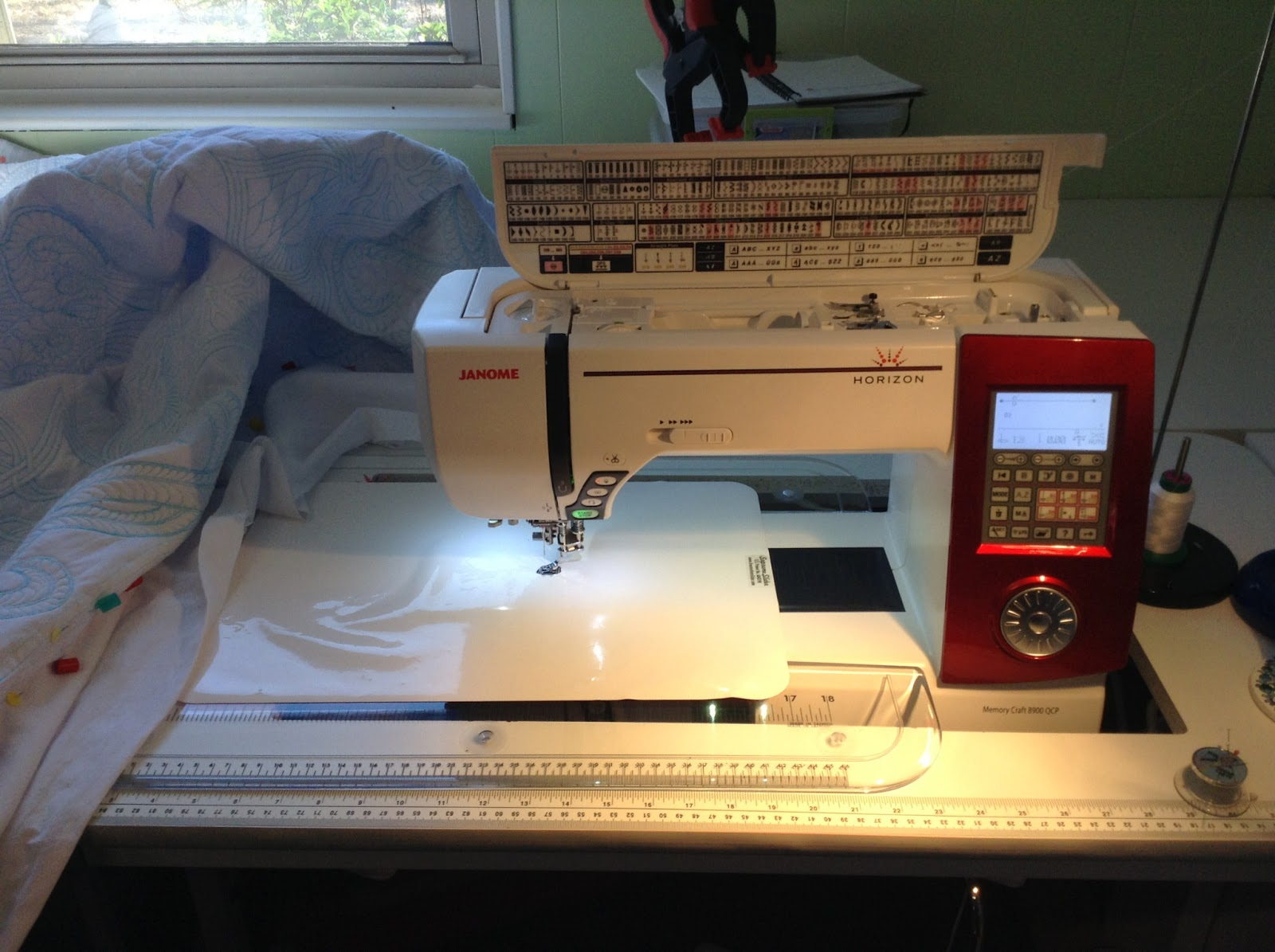 The Free Motion Quilting Project: Fun on a New Machine!
