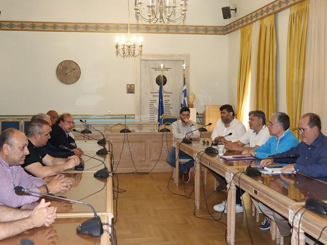 Τι συζήτησε ο Π. Νίκας με τους προέδρους των 5 υπεραστικών ΚΤΕΛ της Περιφέρειας