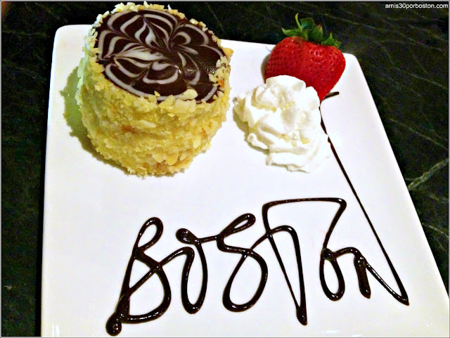 Boston Cream Pie en el Hotel Parker House