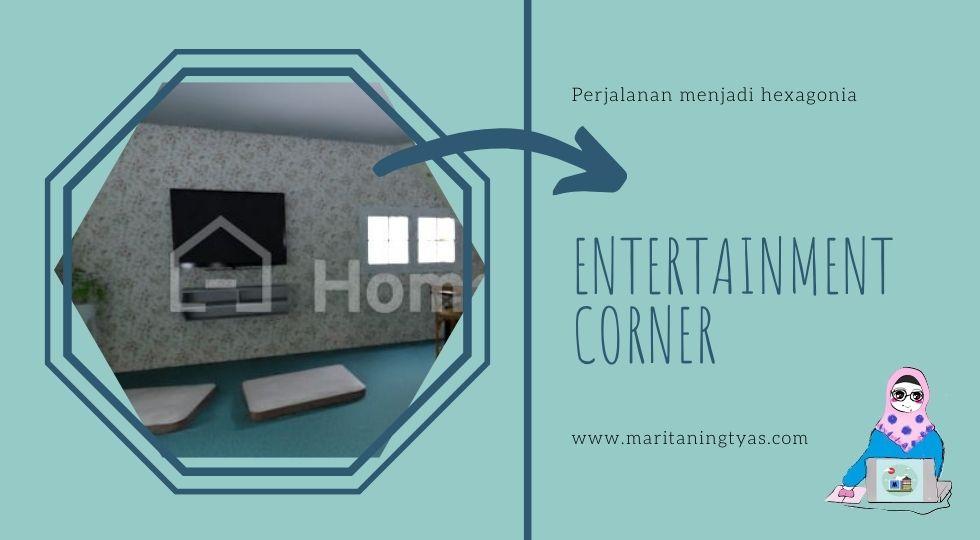entertainment corner of hexa palace