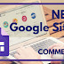 Insert a comment section into the NEW Google Sites 2017