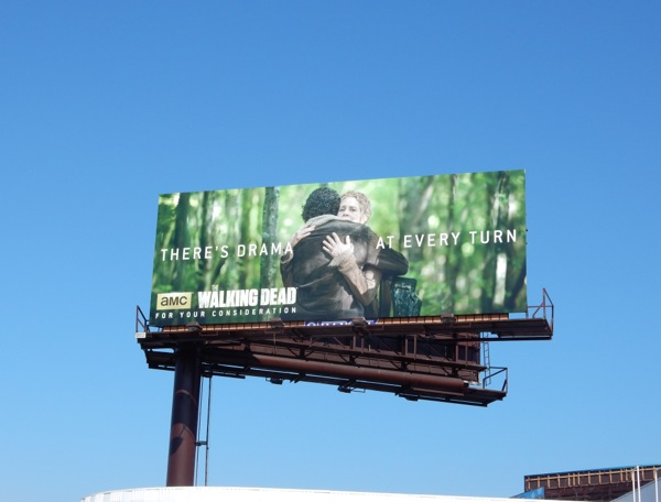 Walking Dead season 5 Emmy 2015 billboard