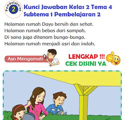Kunci Jawaban Kelas 2 Tema 4 Subtema 1 Pembelajaran 2 www.simplenews.me
