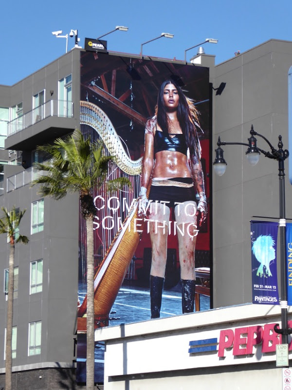 Equinox Harp Commit to Something billboard