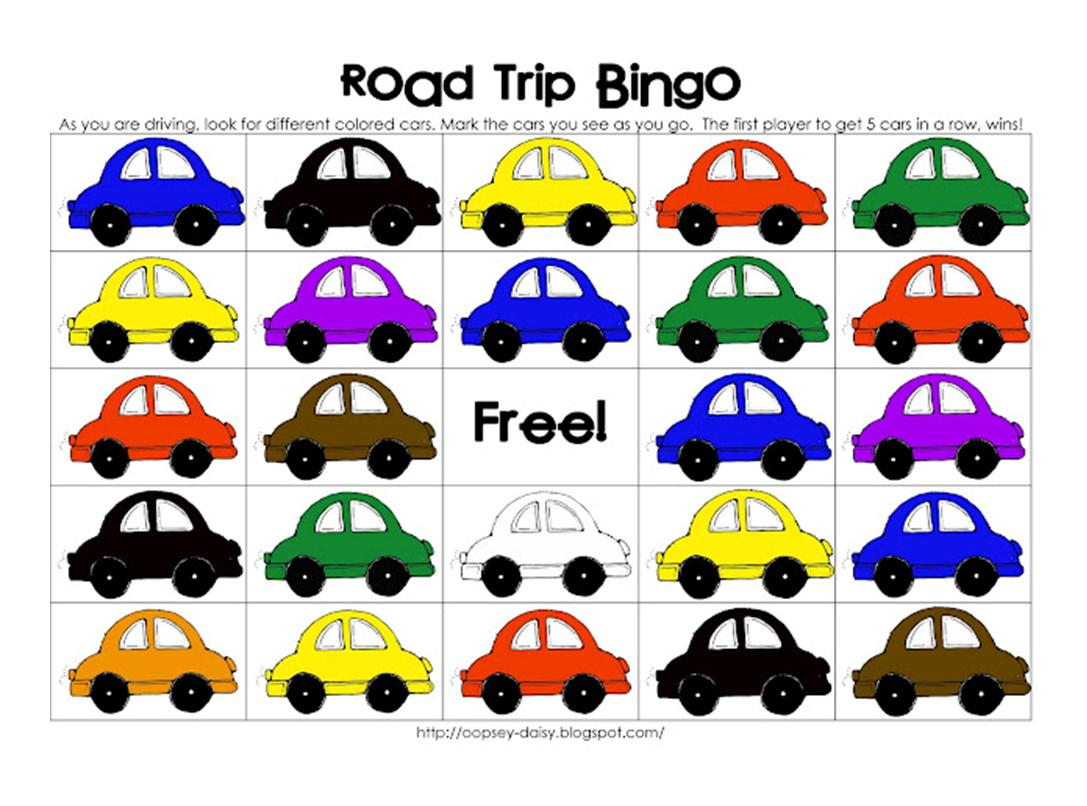 It S Written On The Wall Lots Of Fun Car Activities For