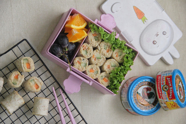 Enam Idea Bento Box yang Sedap dan Menyelerakan daripada Ayam Brand