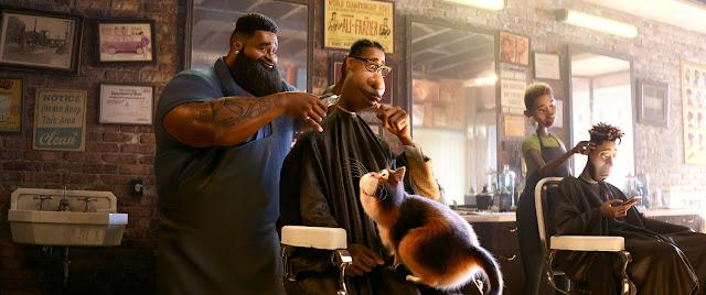 Pixar Soul Barbershop