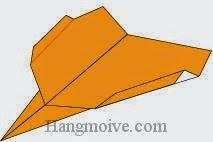 Bước 10: Hoàn thành cách xếp chiếc máy bay B-2 Spirit bằng giấy theo phong cách origami.