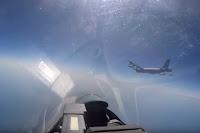 Kampfjets an der Grenze