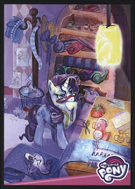 MLP Rarity's Inspiration Room Series 4 Trading Card