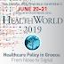 18ο Ετήσιο Συνέδριο HEALTHWORLD, 20 & 21 Ιουνίου, Αθήνα