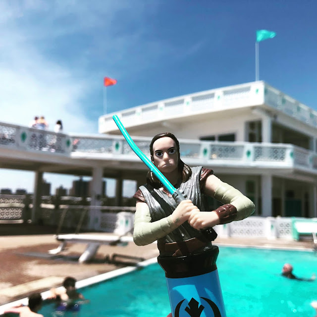 Rey Star Wars Dive Toy
