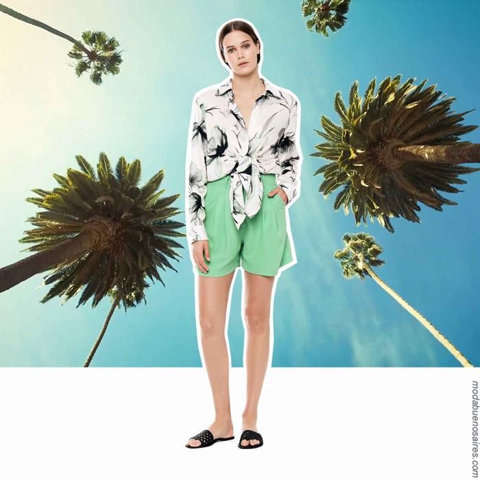 Shorts primavera verano 2020.