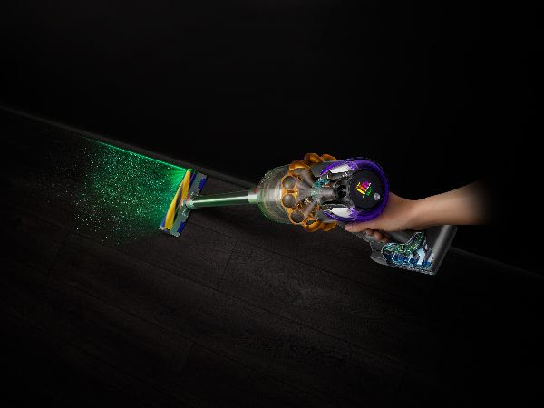 Dyson lança primeiro aspirador com tecnologia de deteção a laser para revelar o pó oculto