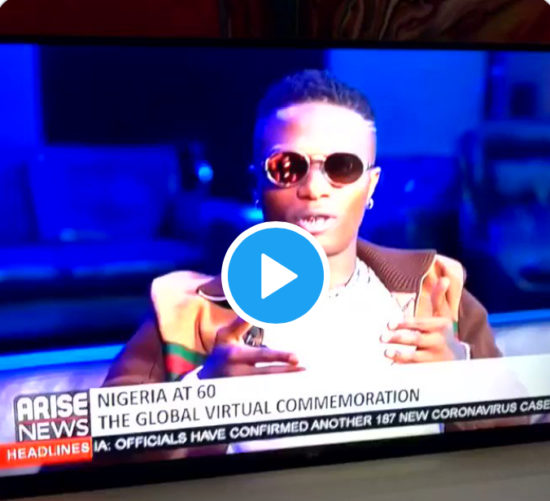 """""""Me, Burna & David Are Just Scratching The Surface, The Next Generation Will Take It To The Next Level"""" — Wizkid"""