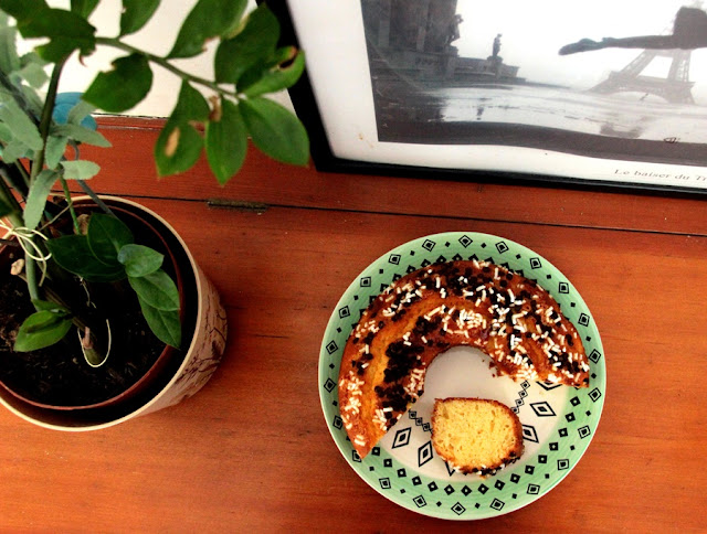 ricetta ciambella all'arancia