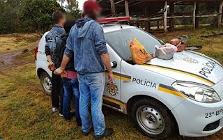 Brigada Militar prende acusados de abigeato em Arroio do Tigre
