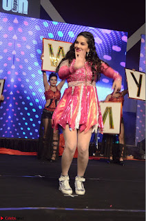 Sunny Leone Dancing on stage At Rogue Movie Audio Music Launch ~  048.JPG