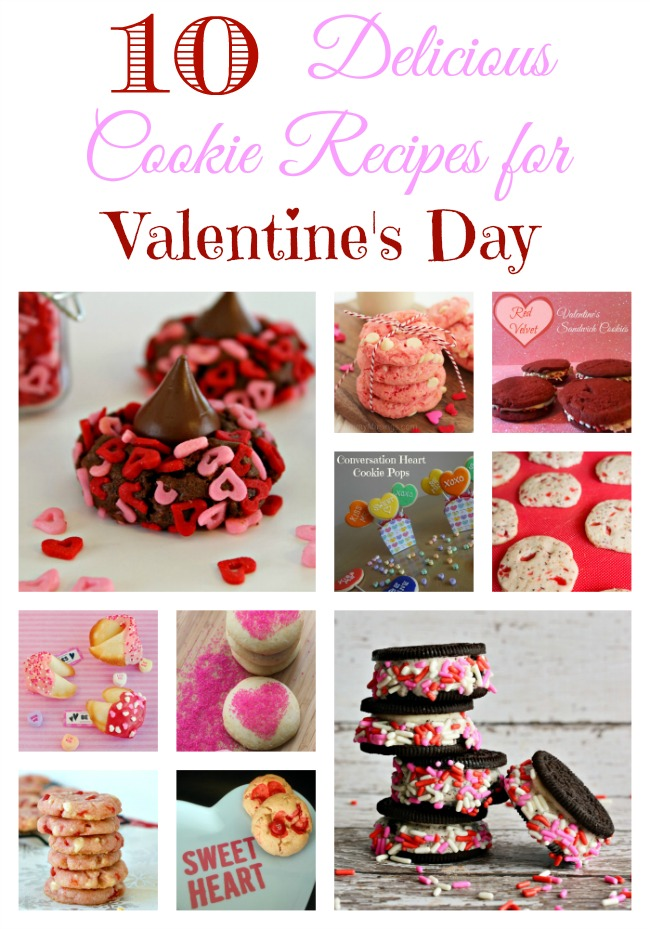 Cookie Recipes for Valentine's Day