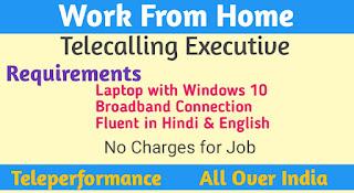 Work Form Home||Teleperformance
