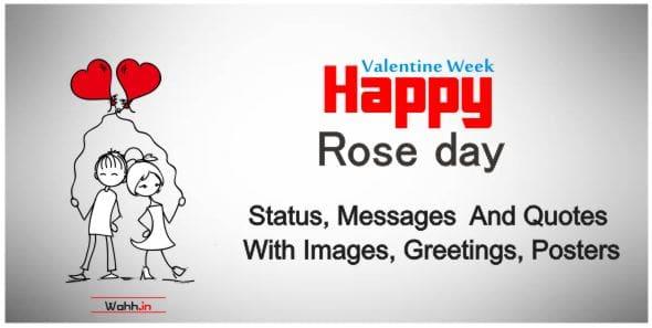 Amazing  Rose Day Status For Whatsapp