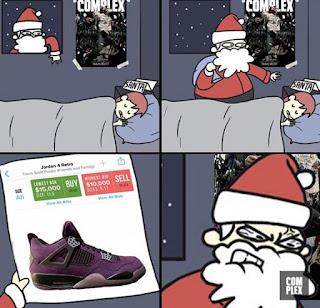 Santa Claus,Gifts, Christmas Meme