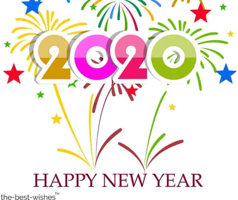 a happy new year 2020 images