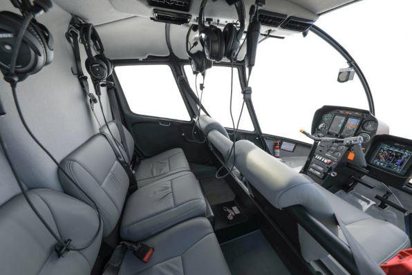 Robinson R66 Turbine interior