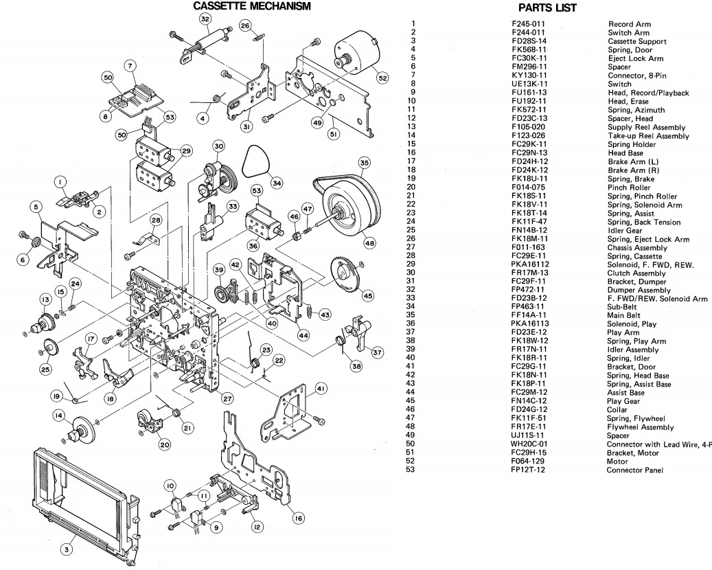 Master Electronics Repair !: HARMAN KARDON CD91 CIRCUIT