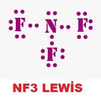 NF3 Lewis Yapısı