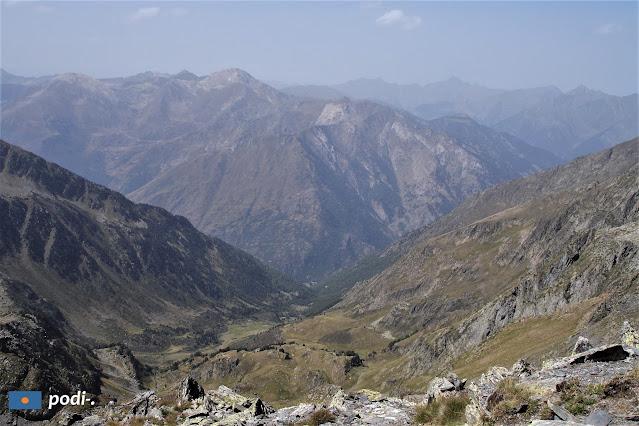 Vedute dal Mont-Roig, Pirineo catalano