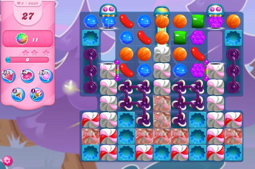 Candy Crush Saga level 9839