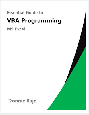 [FREE EBOOK]Essential Guide to VBA Programming for MS Excel-Donnie Baje