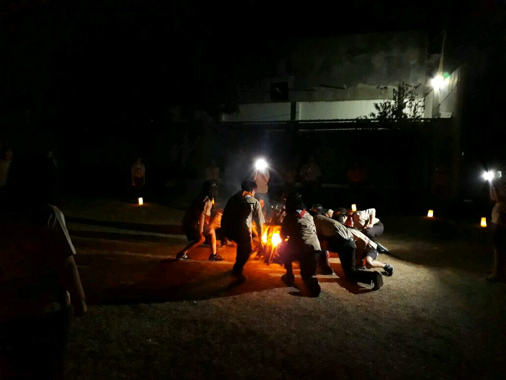 Ciptakan Atmosfir Kepanduan, SMA KK Adakan PERJUSA 2017