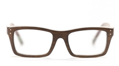 Proof Eyewear Dark Wood Glasses