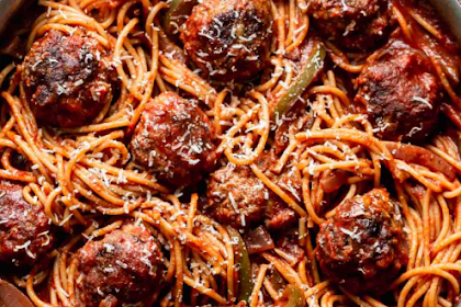 The Best Spaghetti and Meatballs in the Worl