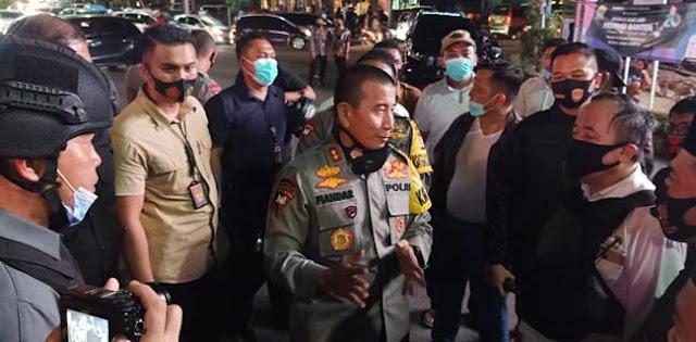 Aksi Tolak Omnibus Law Ricuh, Polda Banten Amankan Lima Demonstran