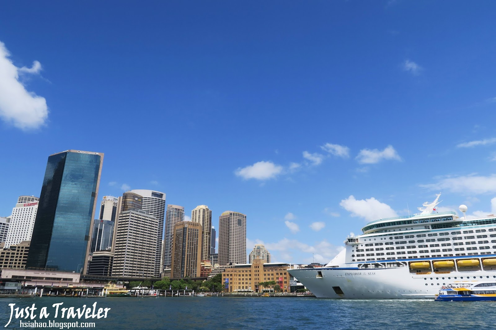 雪梨-景點-推薦-雪梨港-Circular-Quay-旅遊-自由行-澳洲-Sydney-Tourist-Attraction-Travel-Australia