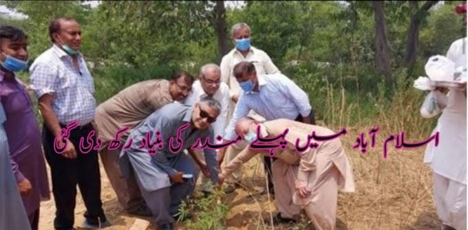 اسلام آباد میں پہلے مندر کی بنیاد رکھ دی گئی