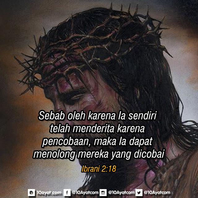 Ibrani 2:18