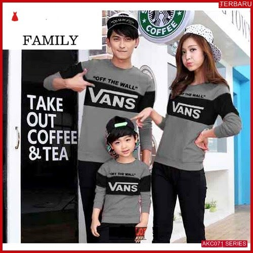 AKC071S66 Sweater Couple Vans Anak 071S66 Keluarga BMGShop