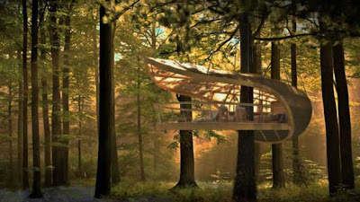 la petite cabane dans les arbres d tails d 39 architecture. Black Bedroom Furniture Sets. Home Design Ideas