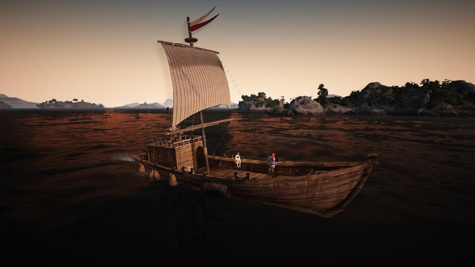 Black Desert Online Iliya Island Ferry